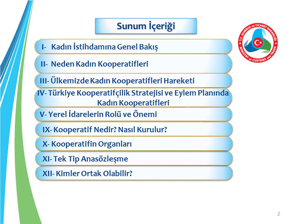IV- Türkiye Kooperatifçilik Stratejisi ve Eylem Planında