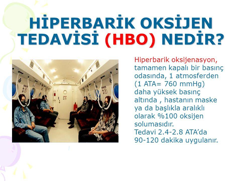 HİPERBARİK OKSİJEN TEDAVİSİ (HBO) NEDİR