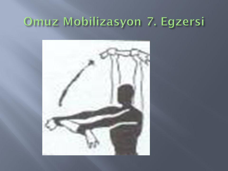 Omuz Mobilizasyon 7. Egzersi