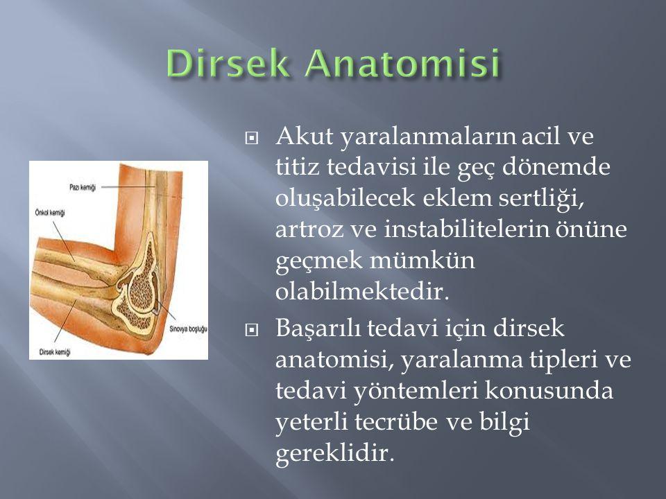Dirsek Anatomisi