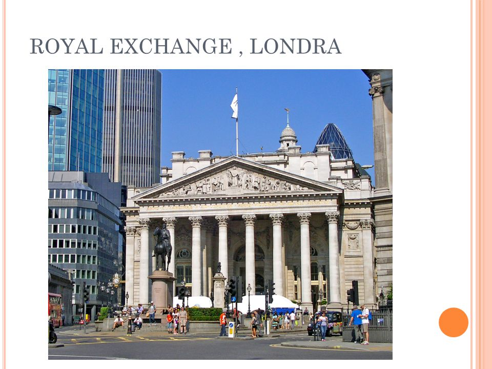 ROYAL EXCHANGE , LONDRA