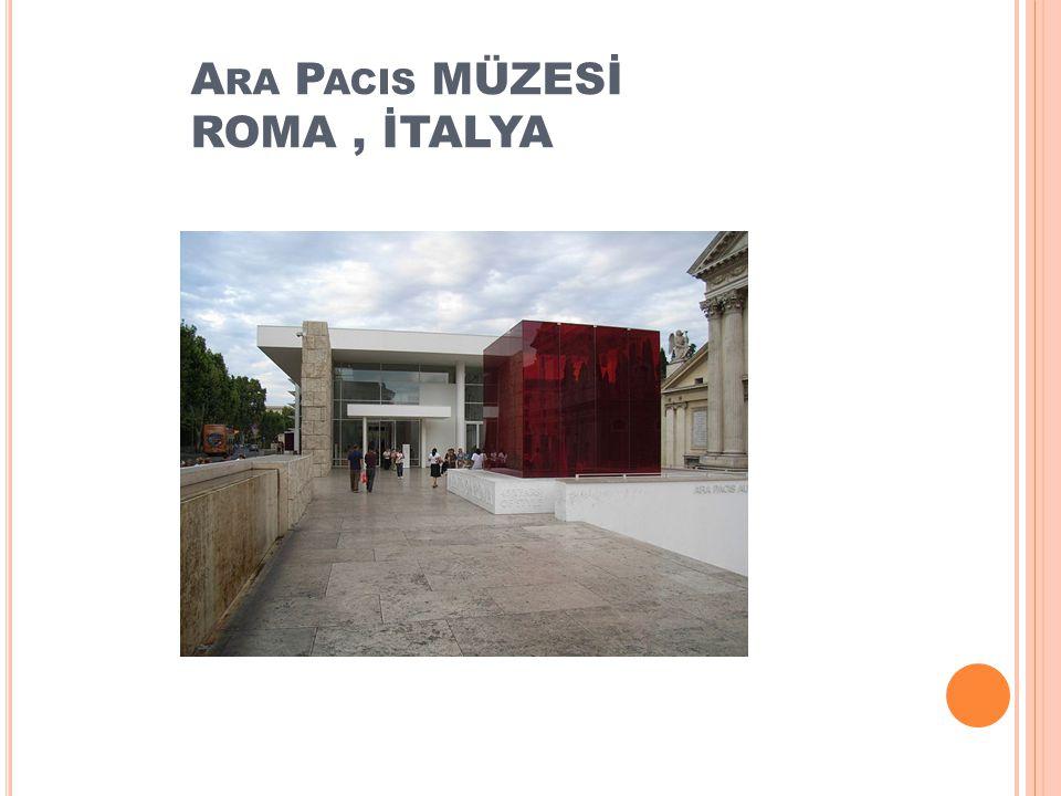 Ara Pacis MÜZESİ ROMA , İTALYA