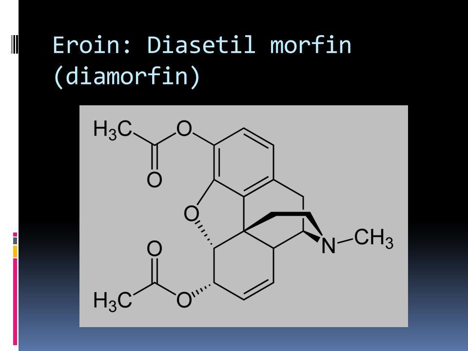 Eroin: Diasetil morfin (diamorfin)