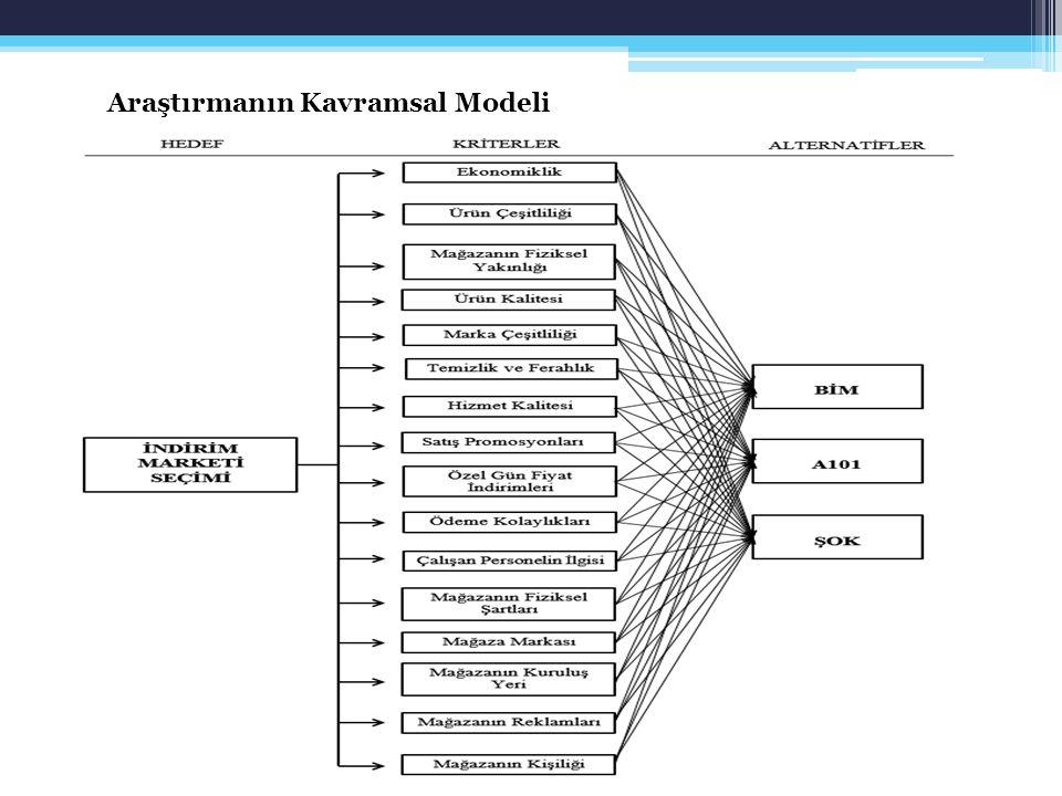 Araştırmanın Kavramsal Modeli