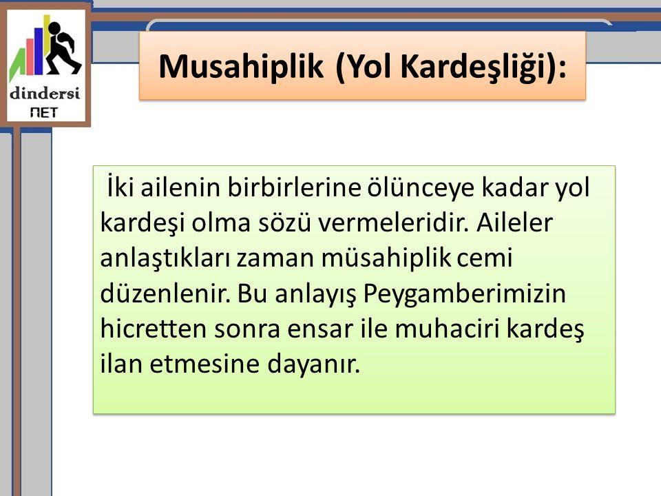 Musahiplik (Yol Kardeşliği):