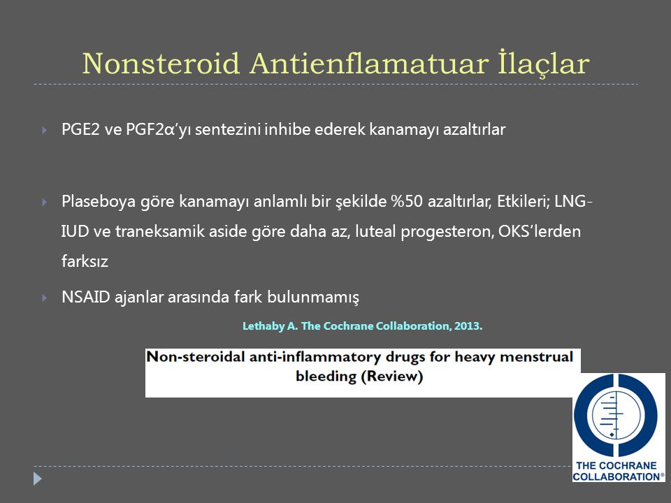 Nonsteroid Antienflamatuar İlaçlar
