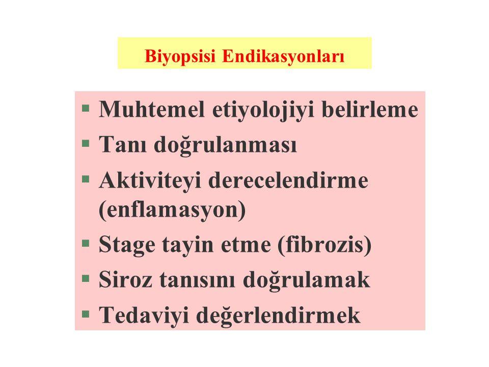 Biyopsisi Endikasyonları