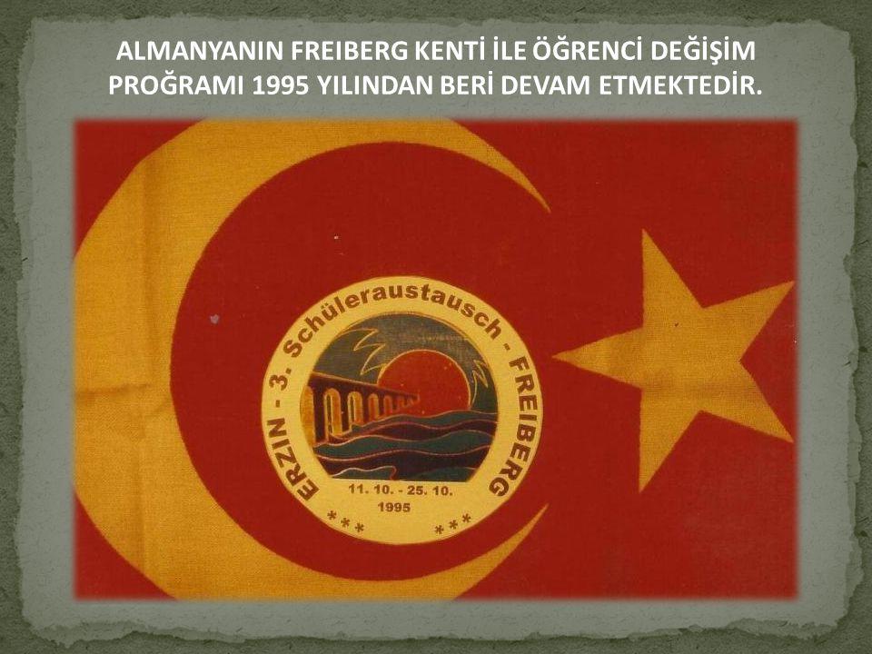 ALMANYANIN FREIBERG KENTİ İLE ÖĞRENCİ DEĞİŞİM PROĞRAMI 1995 YILINDAN BERİ DEVAM ETMEKTEDİR.