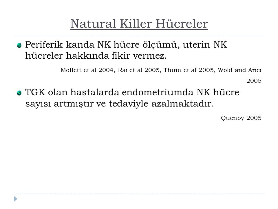 Natural Killer Hücreler