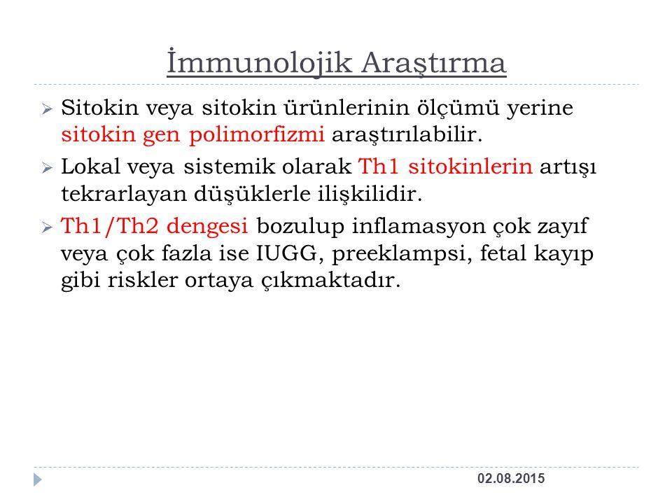 İmmunolojik Araştırma