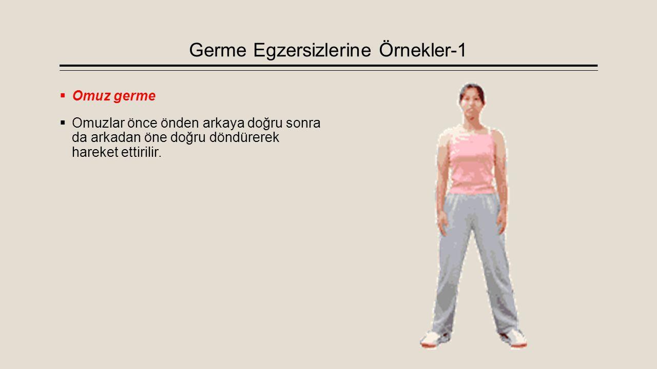 Germe Egzersizlerine Örnekler-1