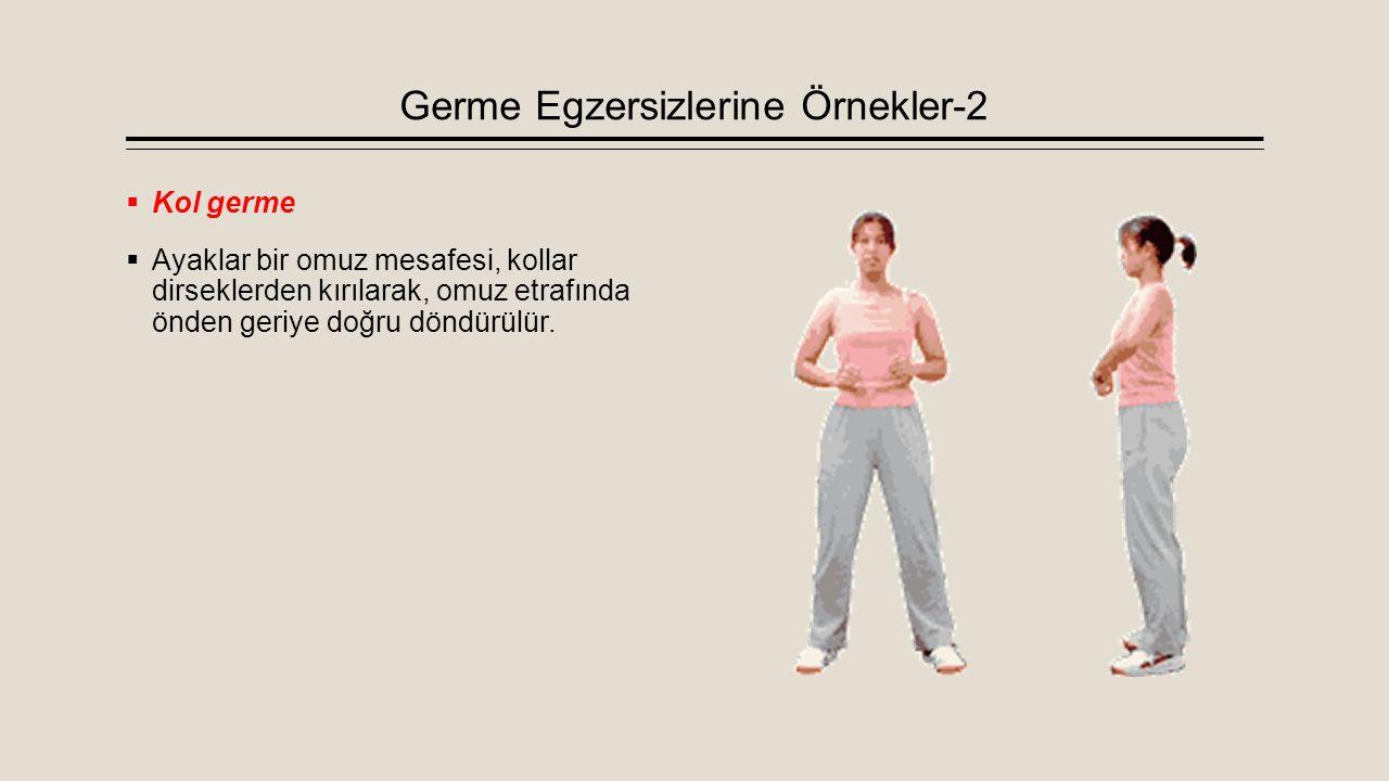 Germe Egzersizlerine Örnekler-2