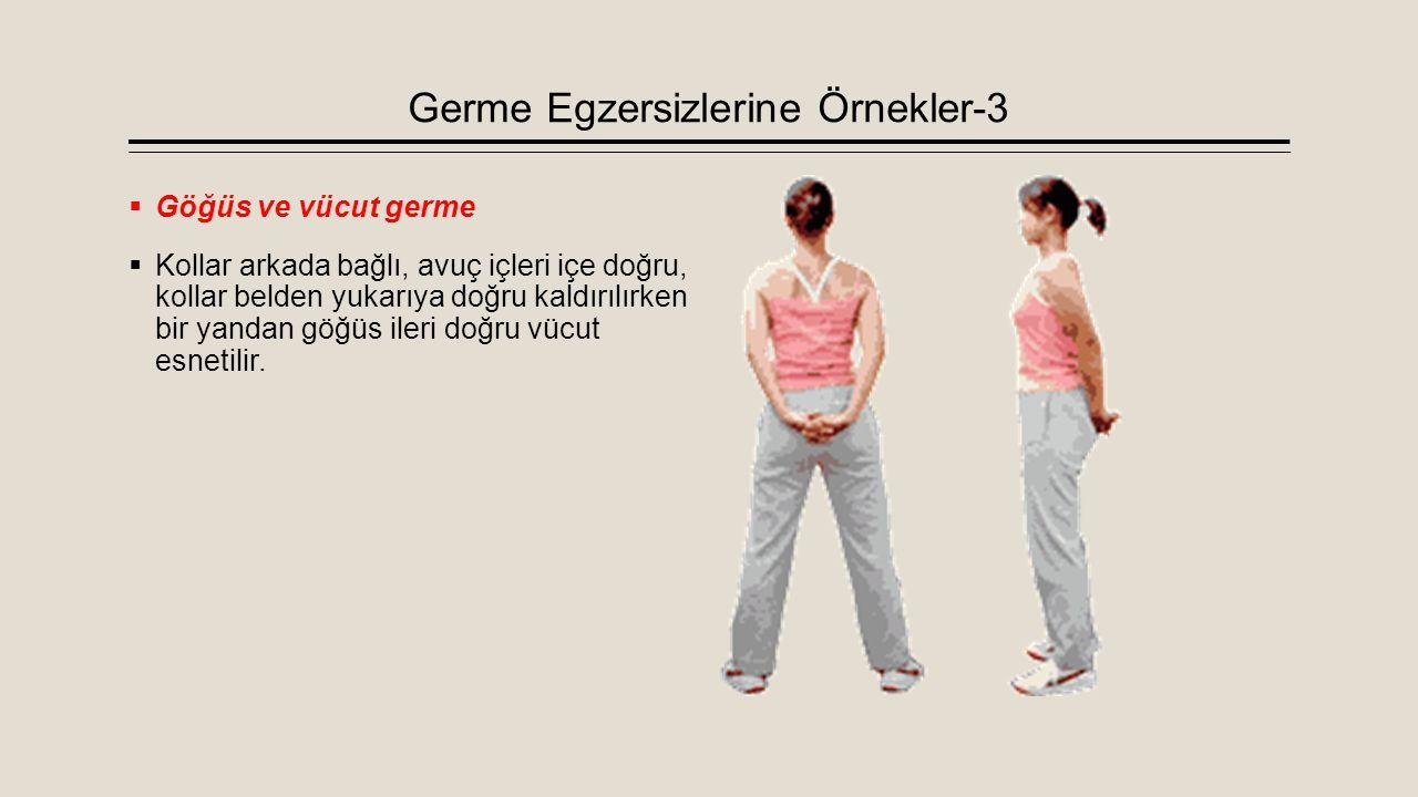 Germe Egzersizlerine Örnekler-3