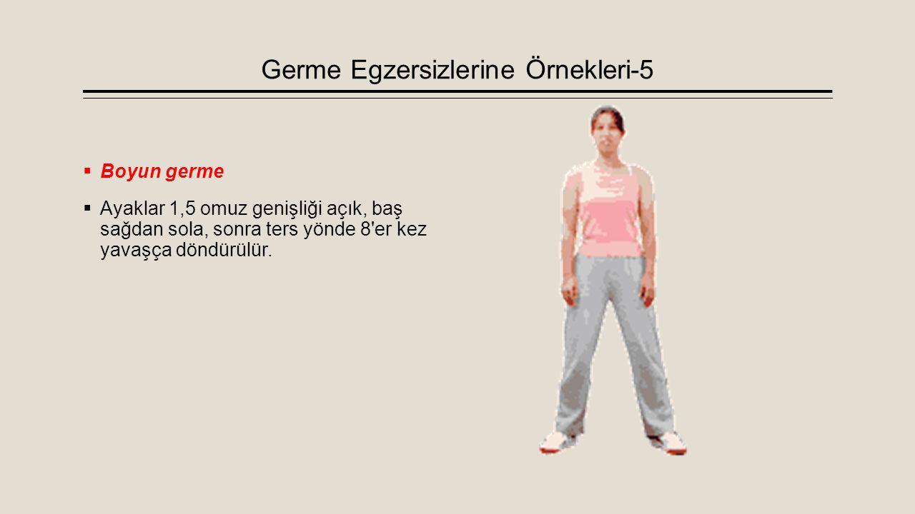 Germe Egzersizlerine Örnekleri-5