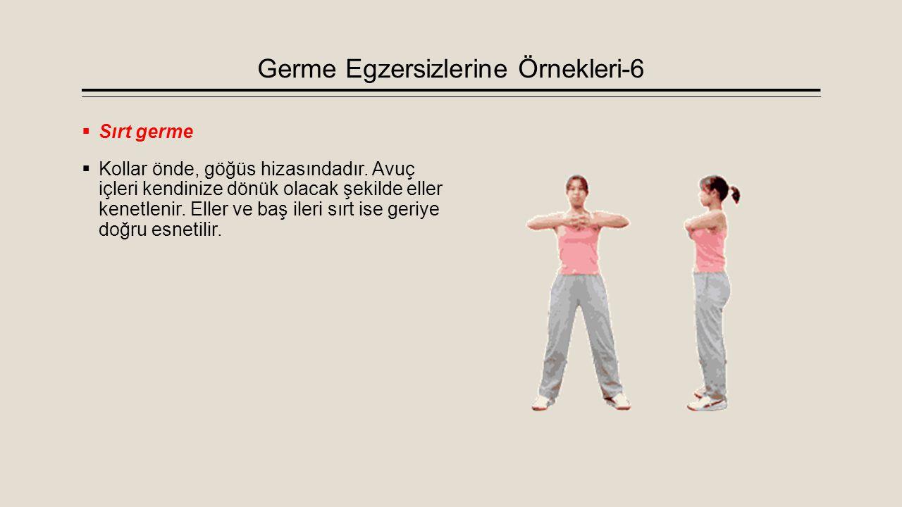 Germe Egzersizlerine Örnekleri-6