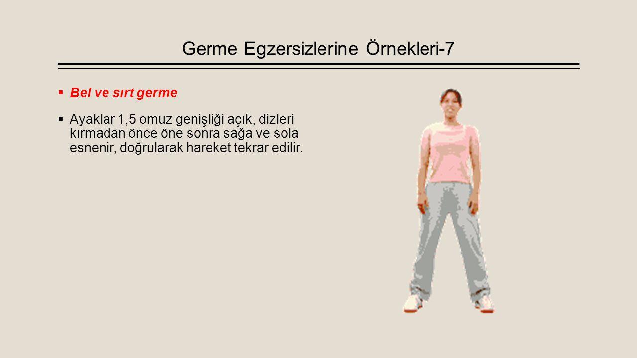 Germe Egzersizlerine Örnekleri-7