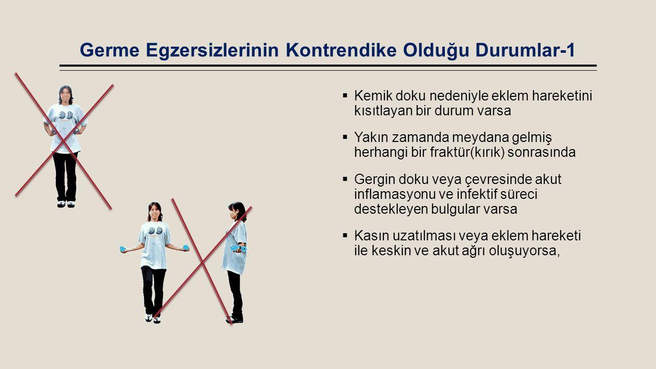 Germe Egzersizlerinin Kontrendike Olduğu Durumlar-1