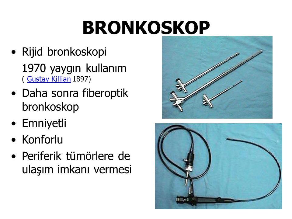BRONKOSKOP Rijid bronkoskopi