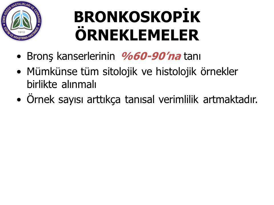 BRONKOSKOPİK ÖRNEKLEMELER