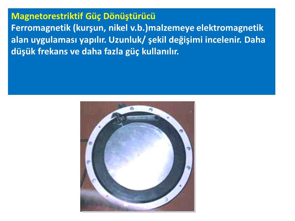 Magnetorestriktif Güç Dönüştürücü