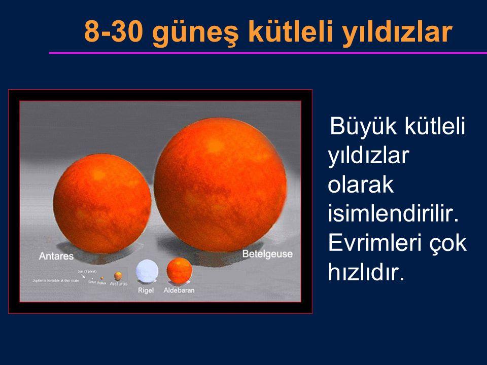 8-30 güneş kütleli yıldızlar