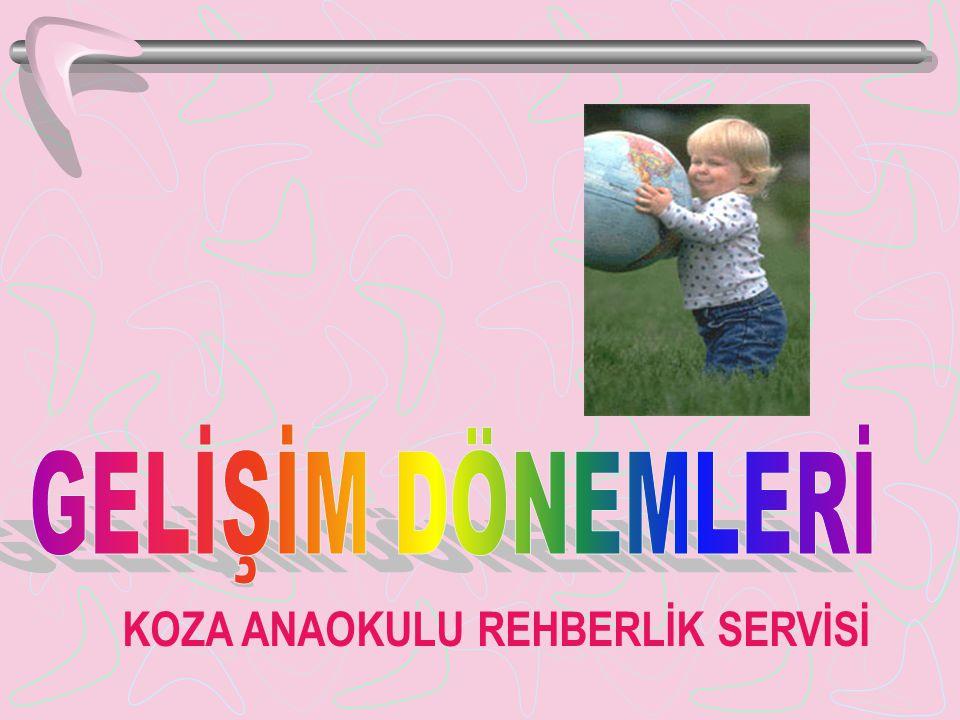 GELİŞİM DÖNEMLERİ KOZA ANAOKULU REHBERLİK SERVİSİ