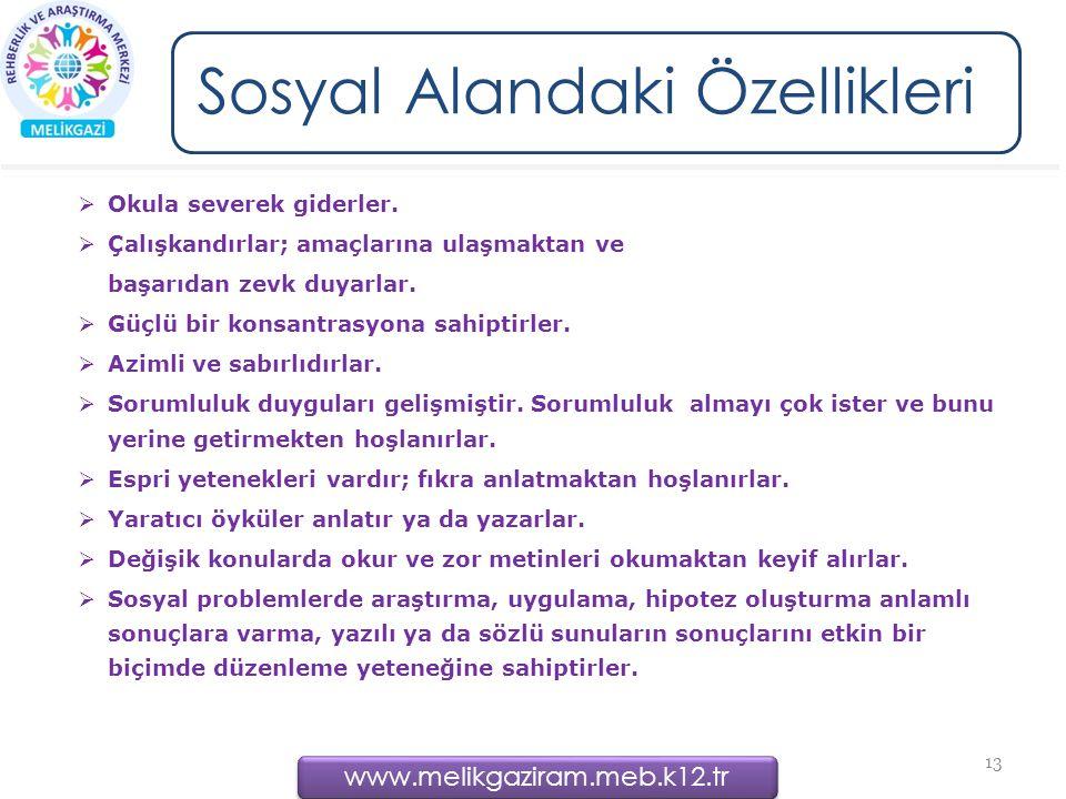www.melikgaziram.meb.k12.tr Okula severek giderler.
