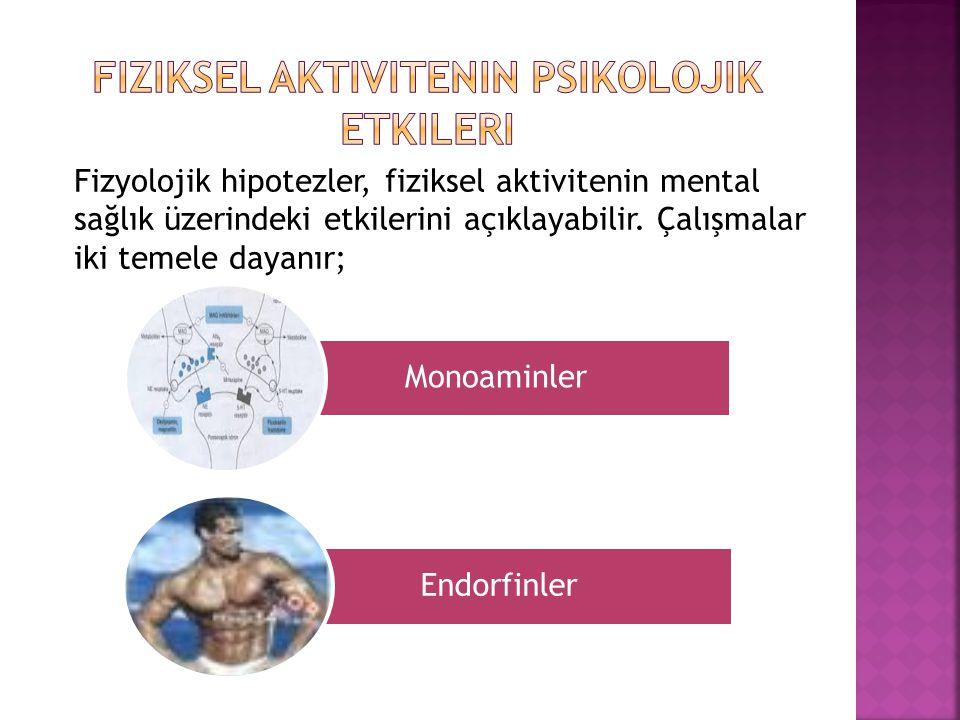 Fiziksel aktivitenin psikolojik etkileri