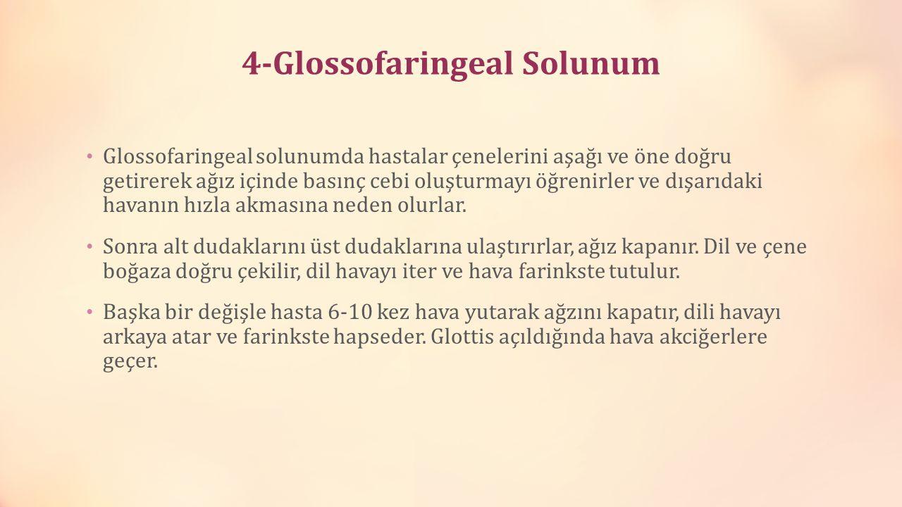 4-Glossofaringeal Solunum