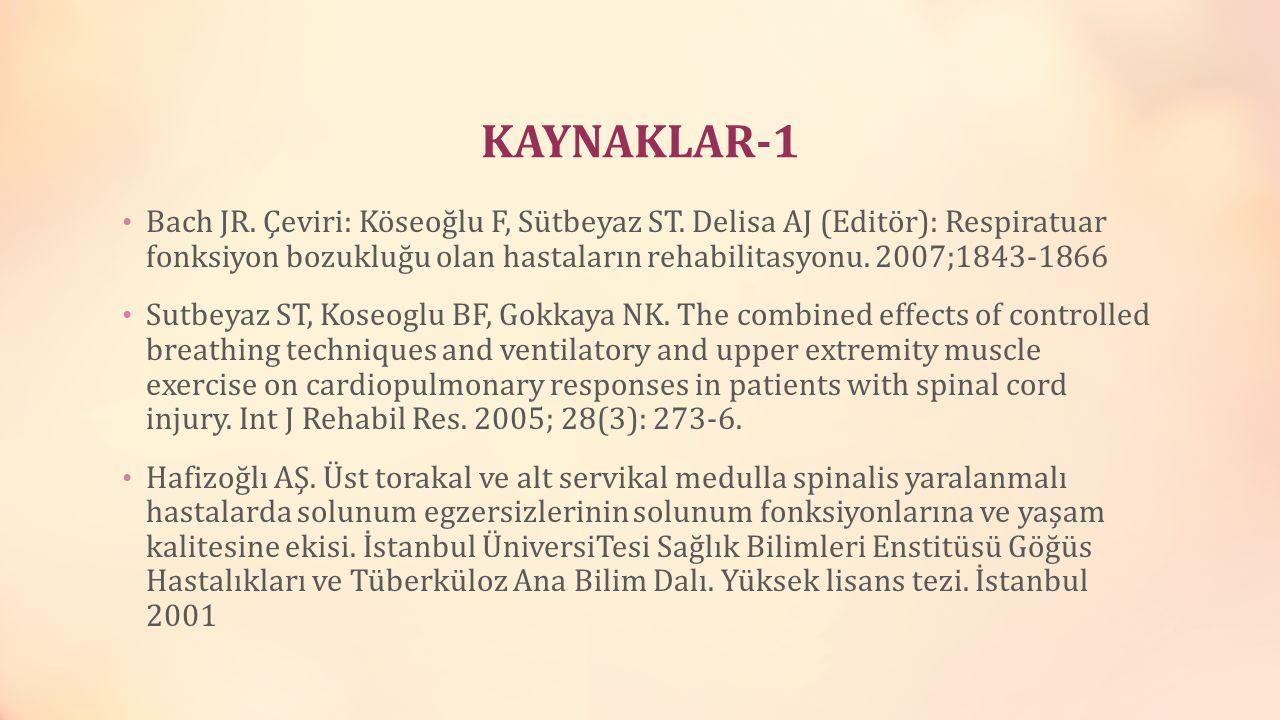 KAYNAKLAR-1