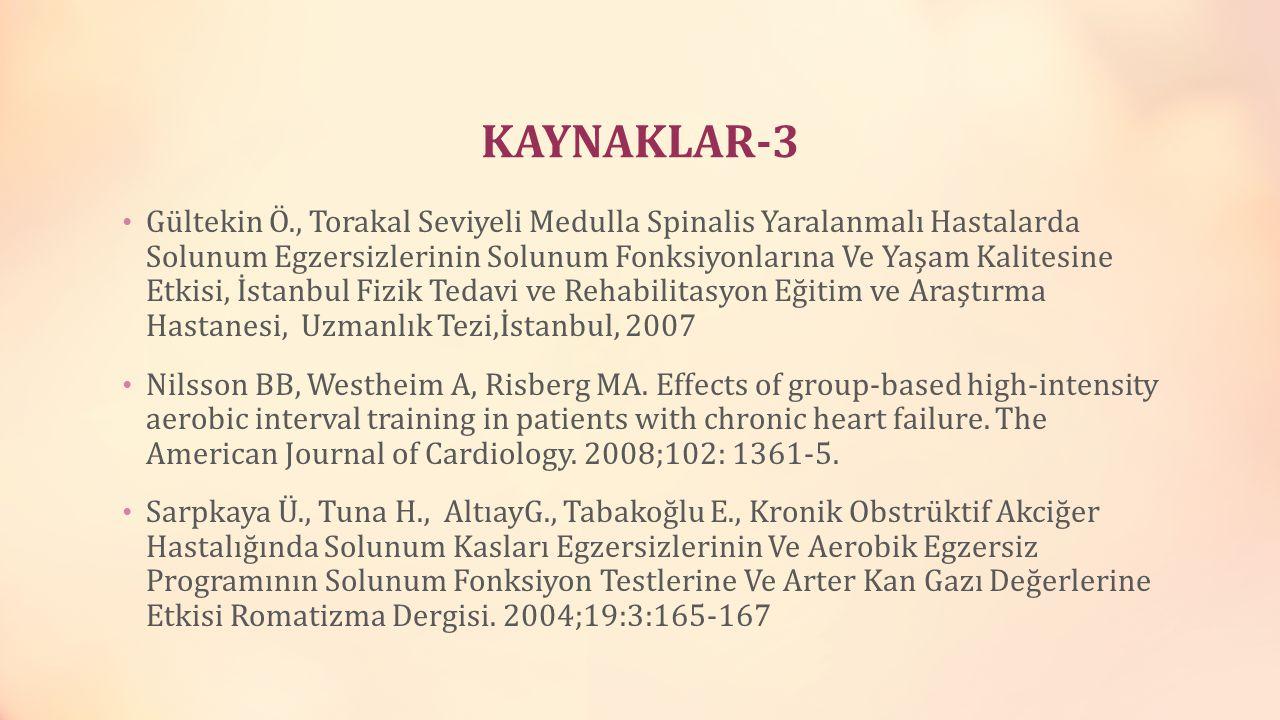 KAYNAKLAR-3