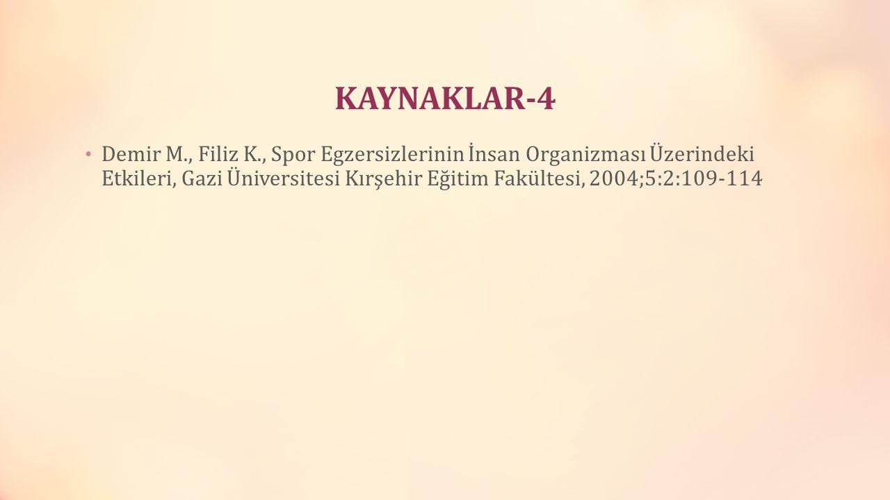 KAYNAKLAR-4