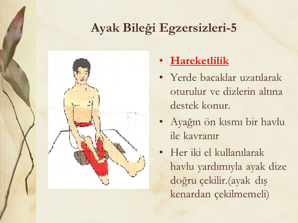 Ayak Bileği Egzersizleri-5