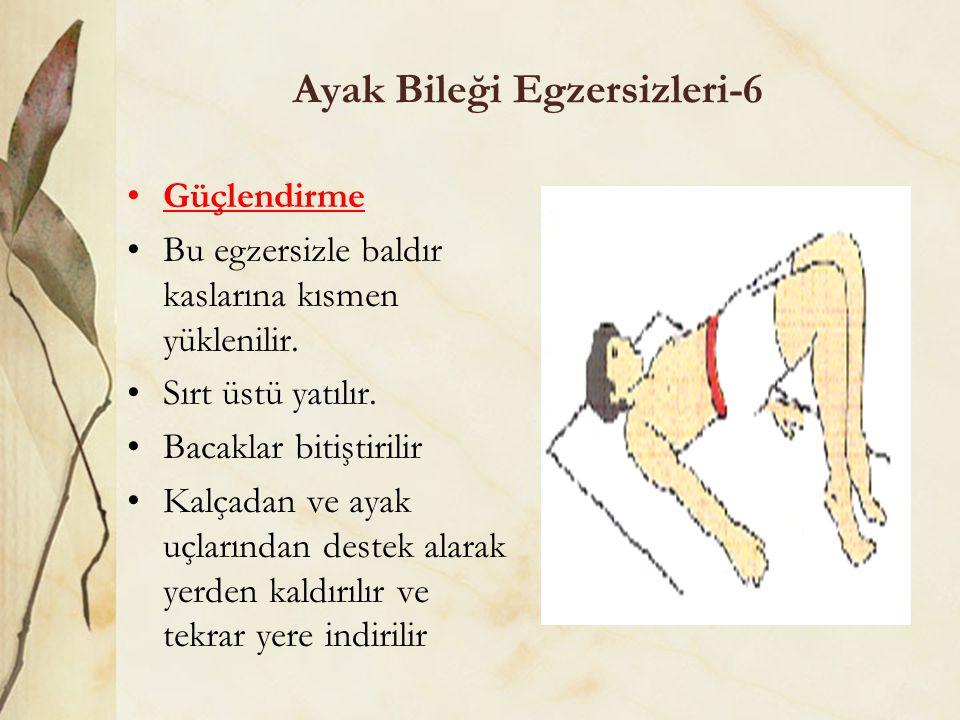 Ayak Bileği Egzersizleri-6