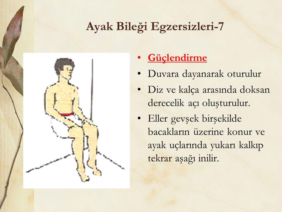 Ayak Bileği Egzersizleri-7
