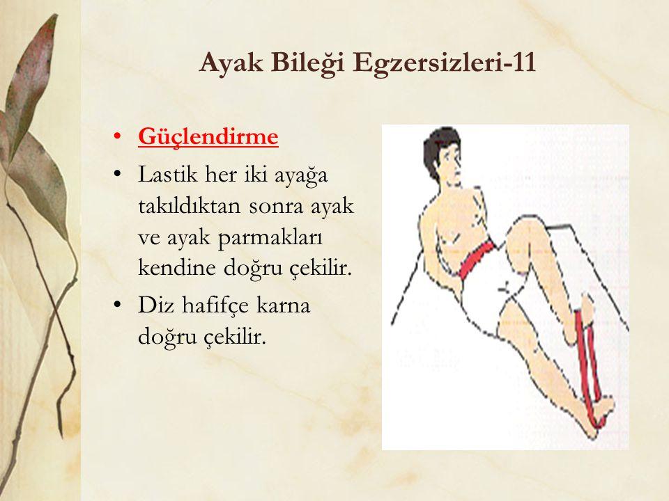 Ayak Bileği Egzersizleri-11