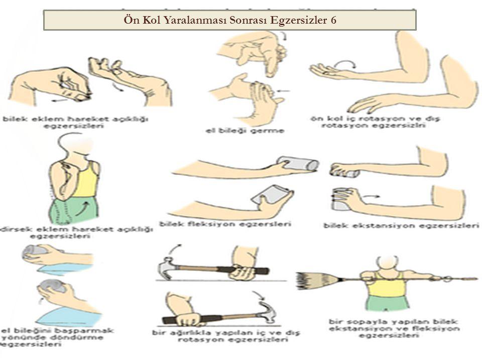 Ön Kol Yaralanması Sonrası Egzersizler 6