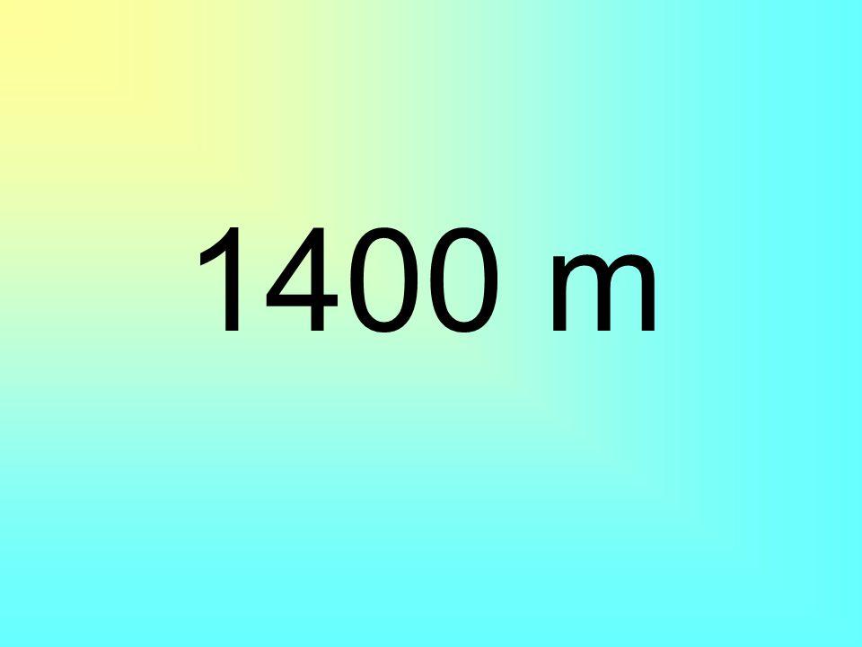 1400 m