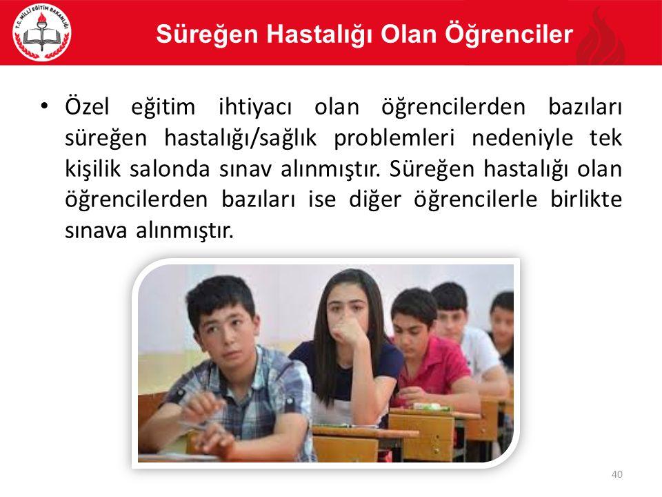Süreğen Hastalığı Olan Öğrenciler
