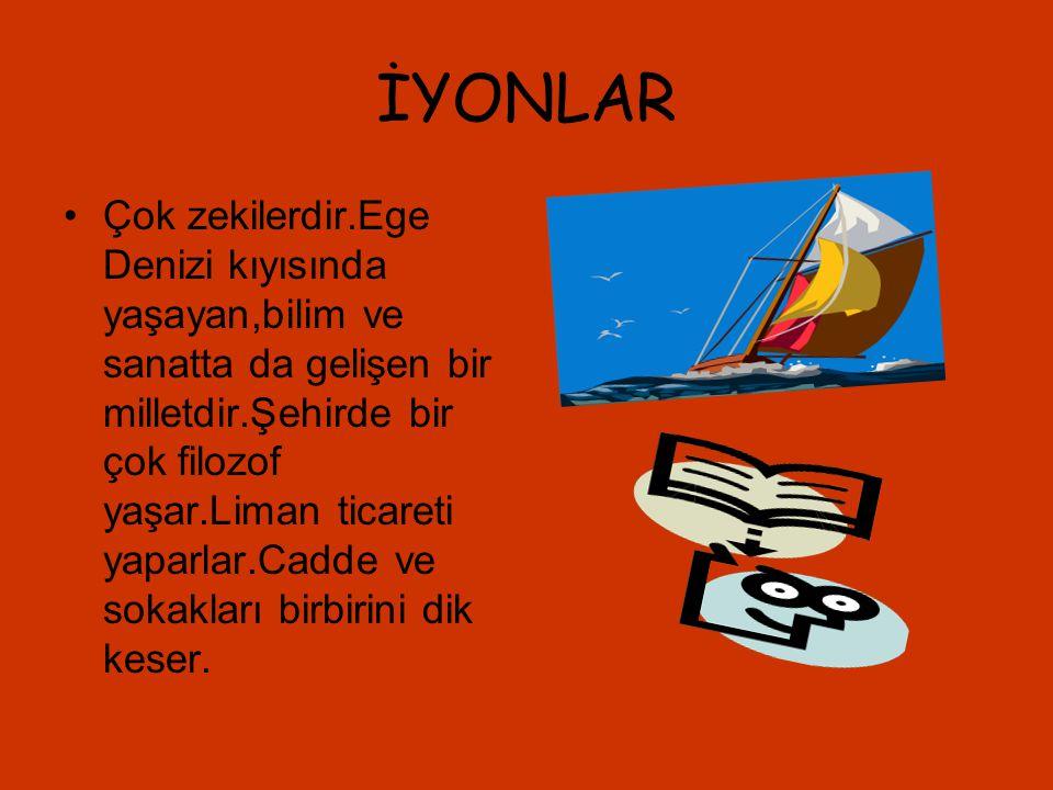 İYONLAR