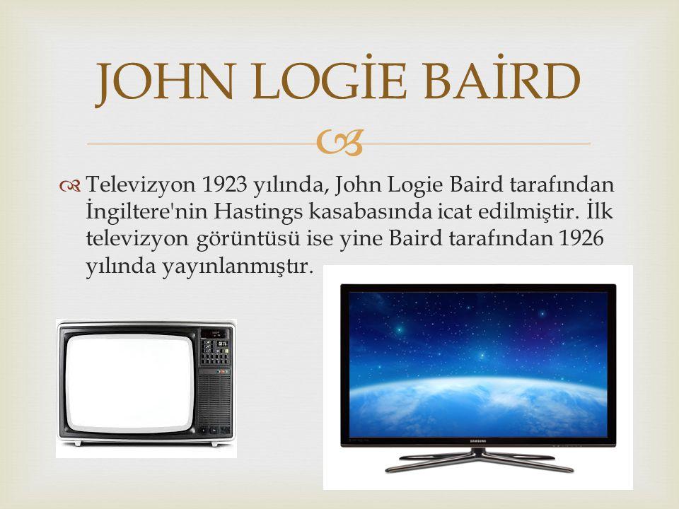 JOHN LOGİE BAİRD