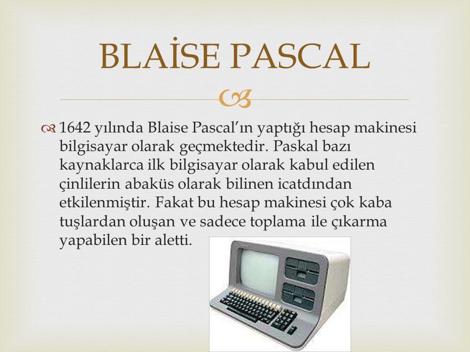 BLAİSE PASCAL