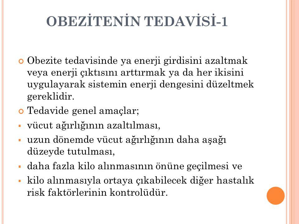 OBEZİTENİN TEDAVİSİ-1