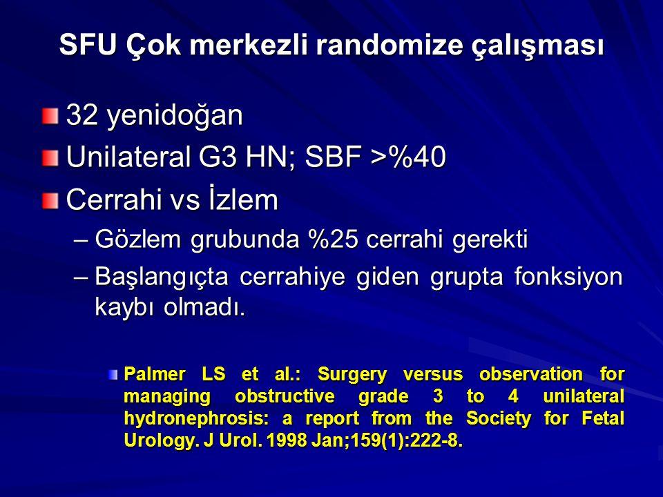 SFU Çok merkezli randomize çalışması