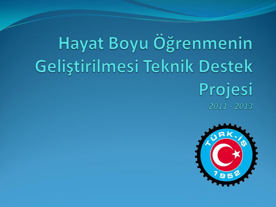 Hayat Boyu Öğrenmenin Geliştirilmesi Teknik Destek Projesi 2011 - 2013