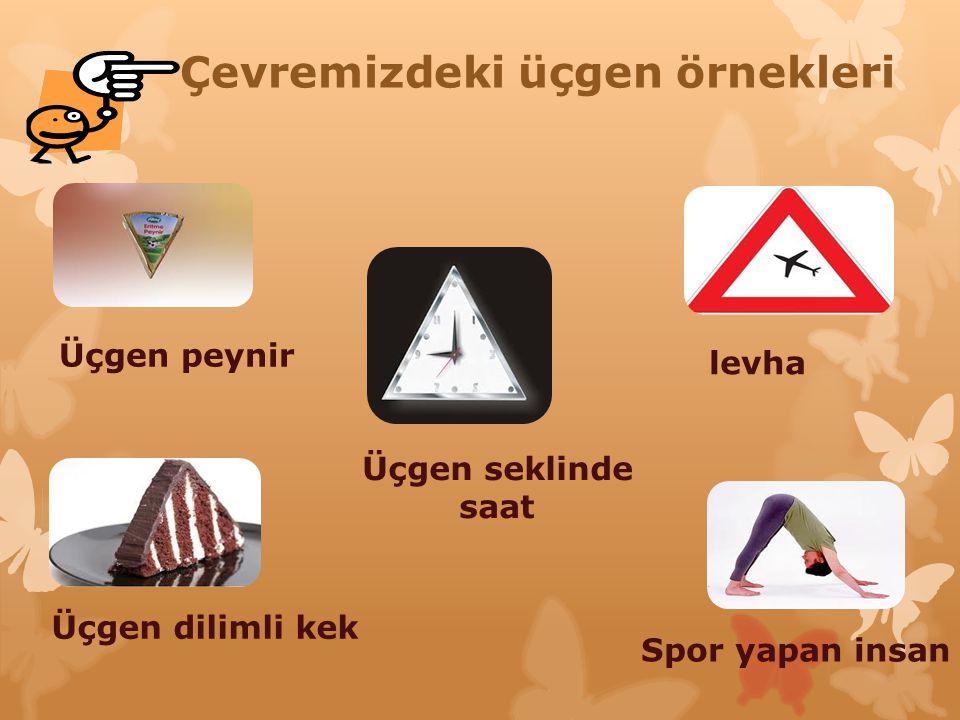 Çevremizdeki üçgen örnekleri