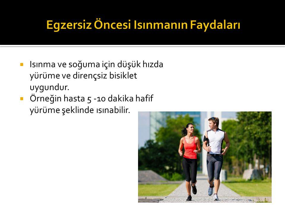 Egzersiz Öncesi Isınmanın Faydaları