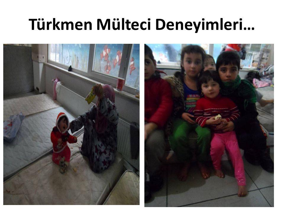 Türkmen Mülteci Deneyimleri…
