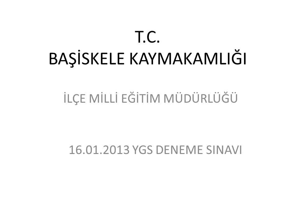 T.C. BAŞİSKELE KAYMAKAMLIĞI