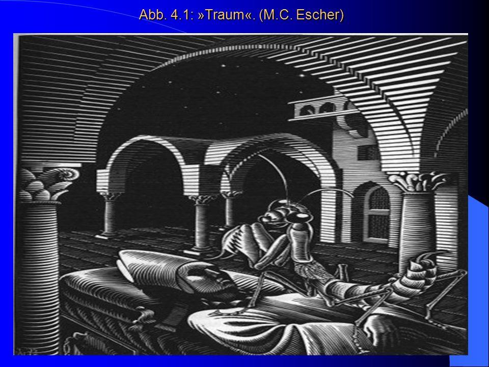 Abb. 4.1: »Traum«. (M.C. Escher)